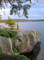 Trip to Boundary Waters Canoe Area Wilderness 2008