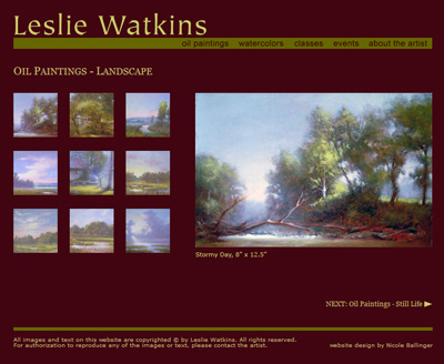 Leslie Watkins Website